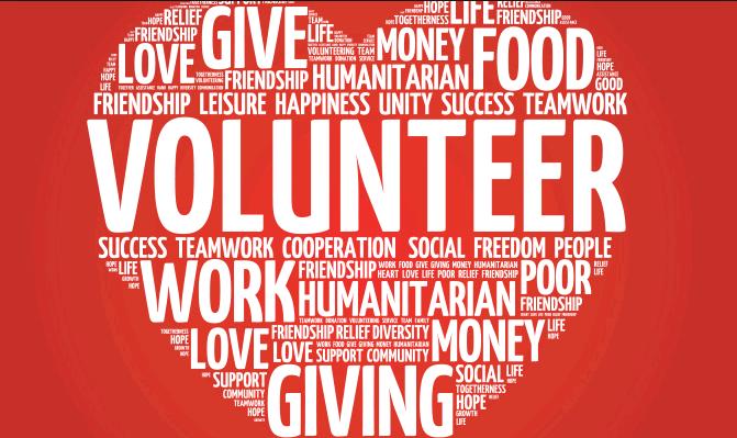 Alt text: Volunteers Thanks