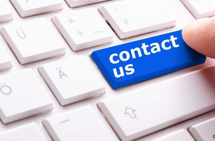 Alt text: Contact Us